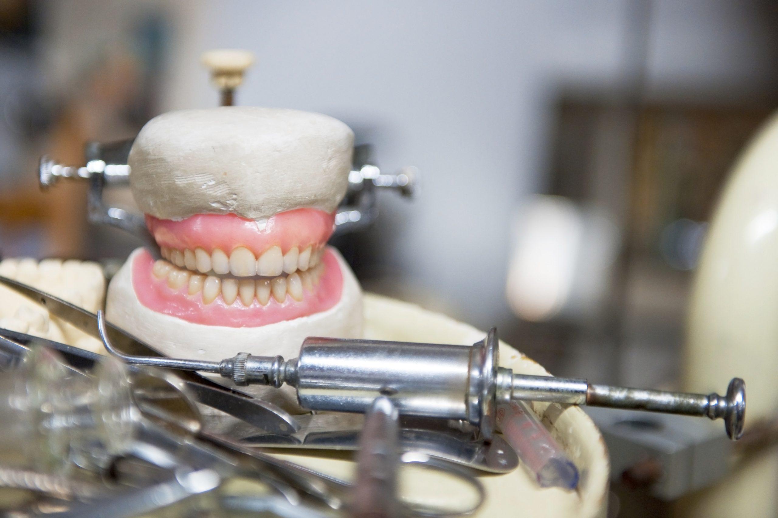 dental laboratory technician brief description